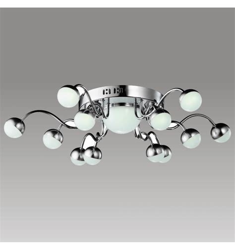 Plafonnier LED design 12 branches Tento