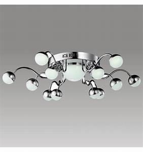 Plafonnier Design Led : plafonnier led design 12 branches tento ~ Melissatoandfro.com Idées de Décoration