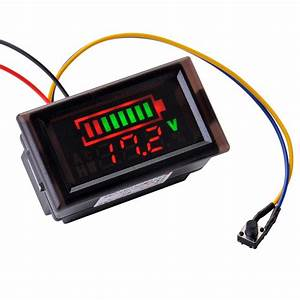 Batterie Kapazität Berechnen : 12v 24v 36v blei s ure batterie kapazit t anzeige voltmeter spannung led ma927 ebay ~ Themetempest.com Abrechnung