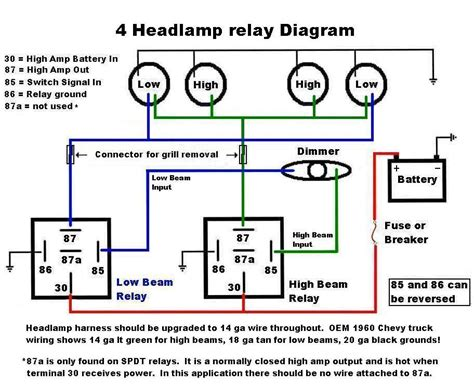 Nice Motorcycle Headlight Relay Wiring Diagram Pictures