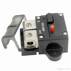 Circuit Breaker  Automotive High Current 0 2 4 8 Gauge