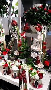 Vitrine Saint Valentin : roses rouges pour la st valentin le pouvoir des fleurs ~ Louise-bijoux.com Idées de Décoration