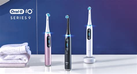 iO Series 9 Rechargeable Electric Toothbrush w/ Bluetooth