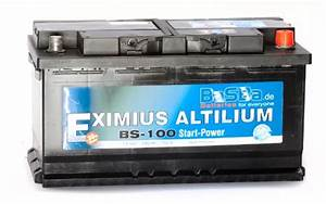 Autobatterie Kaufen Baumarkt : autobatterie 12 v 100 ah bs 100 starterbatterie f r pkw ~ Jslefanu.com Haus und Dekorationen