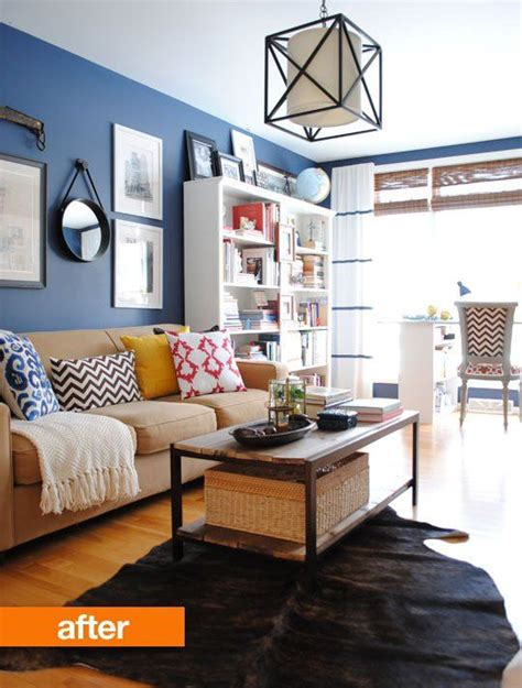 Living Room Paint Makeovers by Small Living Room Makeovers Decorating Your Small Space