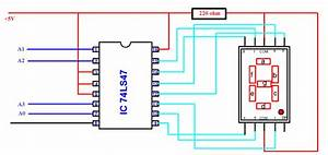 Make Easily Bcd To Seven Segment Display Decoder Circuit