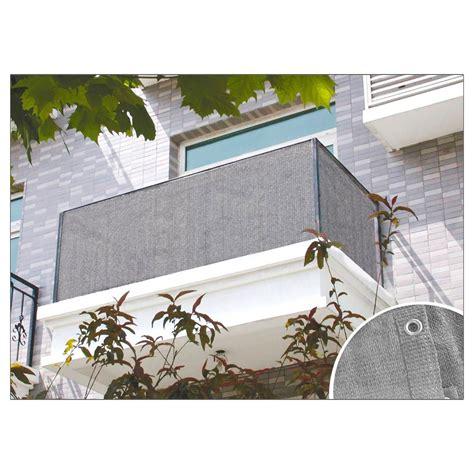 sichtschutz balkon grau balkon sichtschutz anthrazit oder grau 6x0 9 m