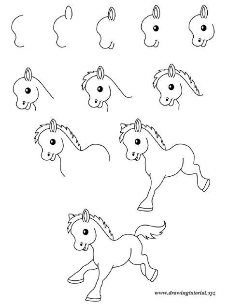 easy drawings step  step animals  wallpaper