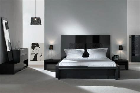 decoration chambre noir blanc gris visuel 5