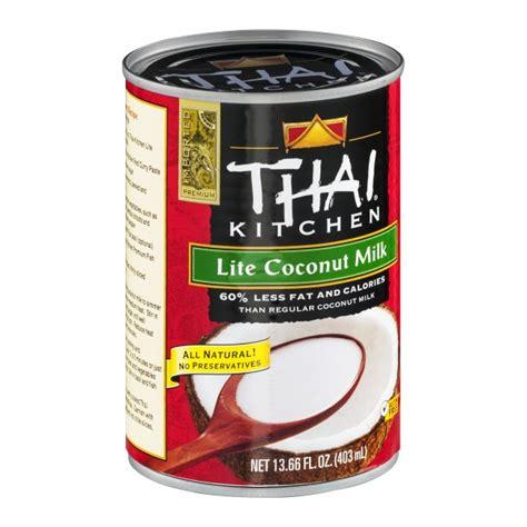 light coconut milk thai kitchen lite coconut milk from market basket instacart