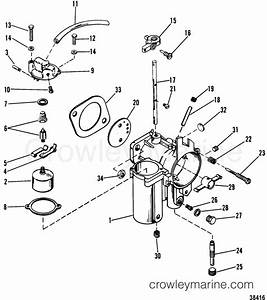 90 Hp Mercury Outboard Parts Diagram