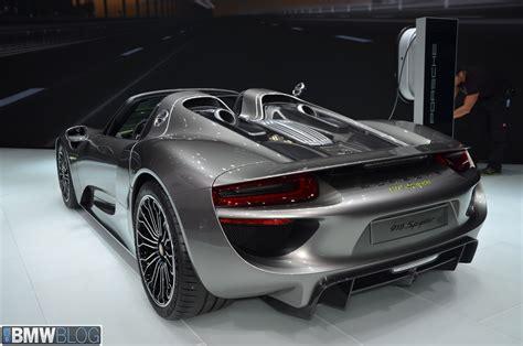 The 6,000 Porsche 918 Spyder At 2013 Frankfurt Auto Show