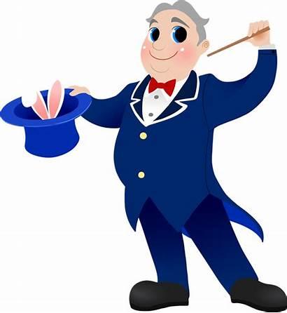 Magician Clipart English Cartoon Circus Vocabulary Clip