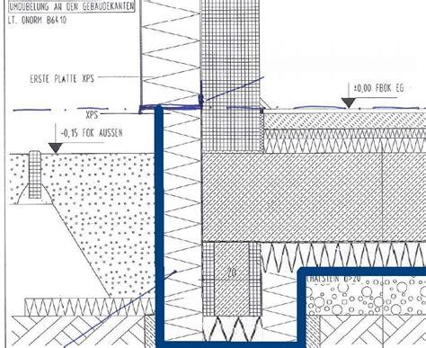 Aufbau Bodenplatte Mit Dammung Trockenestrich Aufbau Betondecke