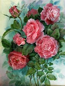 Roses,Flowers and Still Life Paintings Watercolor and Oil