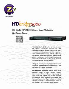 Hd Digital Mpeg2 Encoder    Qam Modulator Get Going Guide