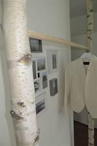 Garderobe Aus Birkenstämmen : garderoben kleiderschrank kleiderstange aus birke ein designerst ck von baba101986 bei ~ Yasmunasinghe.com Haus und Dekorationen