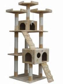 go pet club 72 quot cat tree condo house cat tree condo