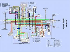 Katana Wiring Diagram - Air Cooled