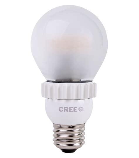 cree led light bulbs cree 39 s led bulb looks like an incandescent and lights like