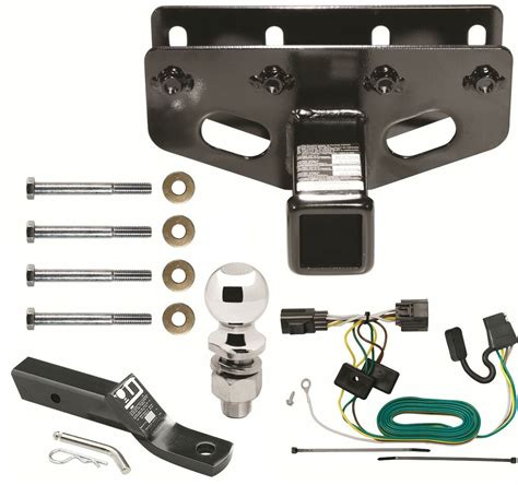 Trailer Hitch Wiring Mount Ball Fits Jeep