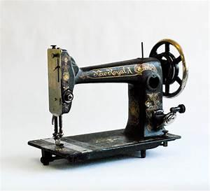 Antique Old Vintage Sewing Machine for Interior Design ...