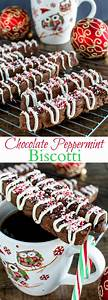 Chocolate Peppermint Biscotti - Back for Seconds
