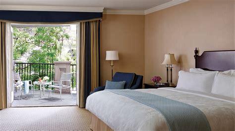 Luxury Pool View Hotel Room With Balcony La  The Langham