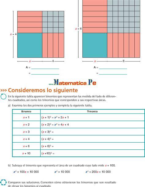 libro de matematicas de tercero de secundaria pdf