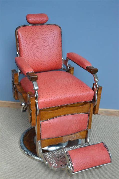 buy antique 1920s barbers chair plus other antique furniture antiques plus australia