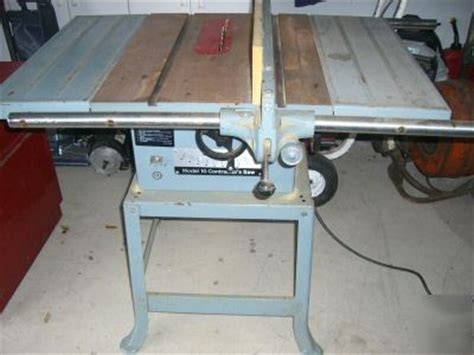 delta model  table contractor wood shop