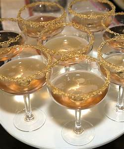 Glitz and Glam Champagne Glasses - Christy Vega