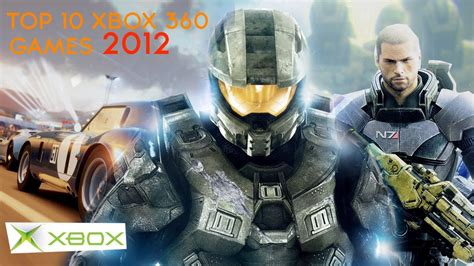 Top 10 Xbox 360 Games  2012 Youtube
