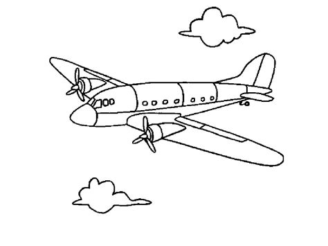 printable airplane coloring pages  kids coloring