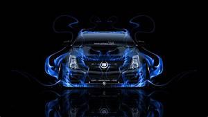 Cadillac CTS-V Hennessey Tuning Front Fire Car 2014 el Tony