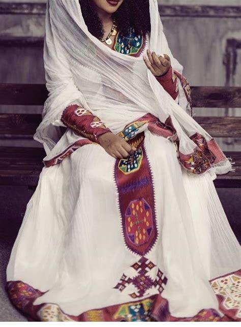 pin  ethio  ethiopian traditional clothes