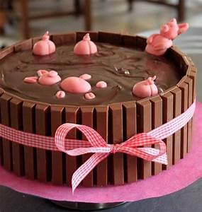 Idée Recette Anniversaire : g teau d anniversaire bain de boue pour les cochons les meilleures recettes de cuisine d 39 d lices ~ Melissatoandfro.com Idées de Décoration