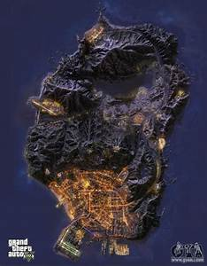 GTA 5 map - download all GTA 5 maps