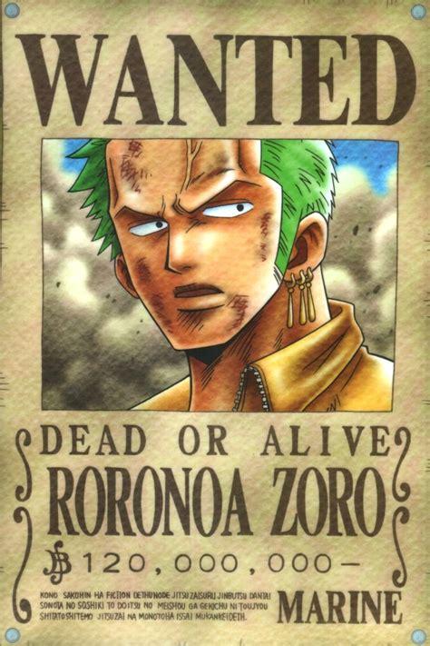 zorro piece recompensas
