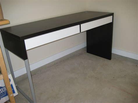 ikea bureau mike ikea white desk with drawers whitevan