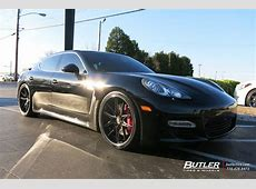 Porsche Panamera with 22in Lexani RTwelve Wheels