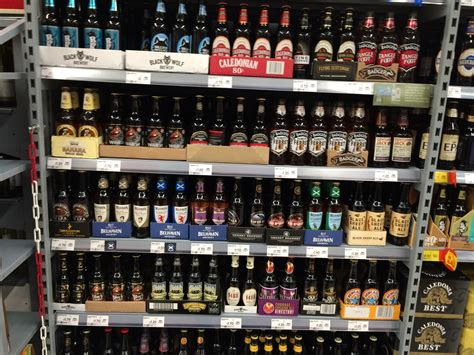 cuisine ales supermarket craft and ale guide asda scotsman
