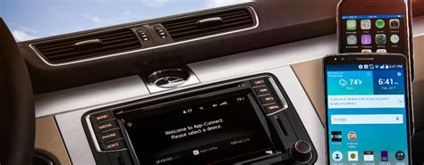 mirror link android volkswagen car net adds apple carplay android auto and