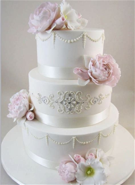 Elegant Wedding Cakes  Decoration Ideas  Little Birthday