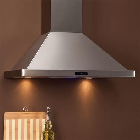 kitchen hoods 36 quot arezzo series stainless steel wall mount range