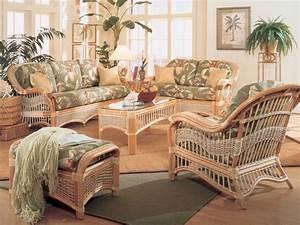 Living room wicker furniture rattan furniture living room for Cane furniture for living room