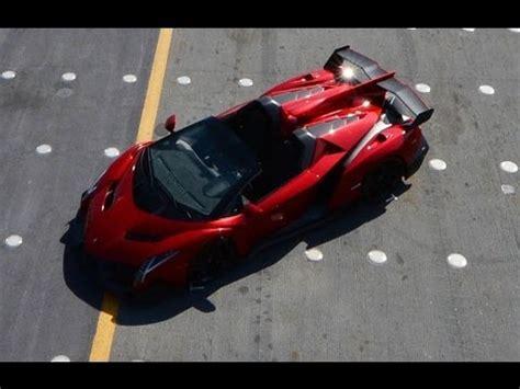 million lamborghini veneno roadster world premiere