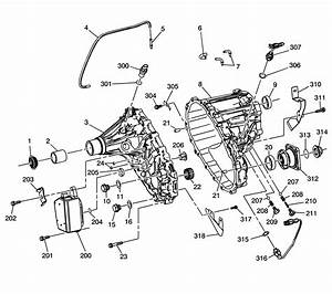 2004 Chevy Silverado Transfer Case Diagram