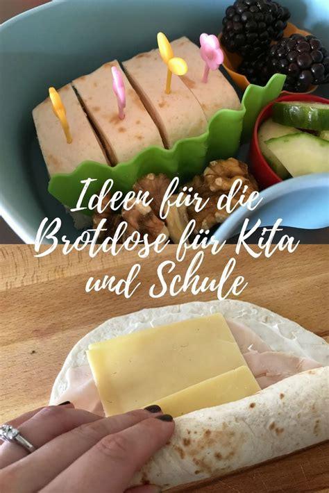 Ideen für die Brotdose Leckeres für Schule und Kita