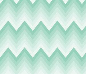 Mint ombre chevron wallpaper at spoonflower | Dream Sewing ...